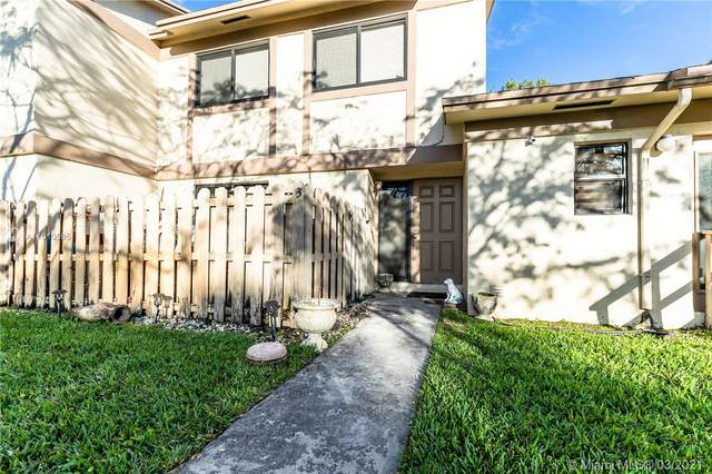 3050 NW 106th Ave #3, Sunrise, FL 33322 (MLS #A11010595) :: The Rose Harris Group