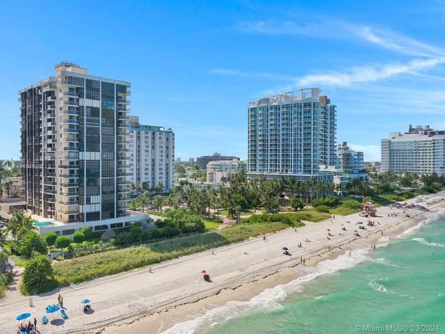 6423 Collins Ave #302, Miami Beach, FL 33141 (MLS #A11010597) :: Compass FL LLC