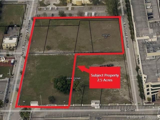 410 - 510 N Rosemary Ave, West Palm Beach, FL 33401 (MLS #A11010619) :: The MPH Team