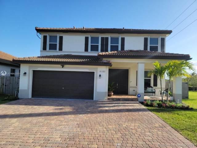 4100 NE 20 Street, Homestead, FL 33033 (MLS #A11012000) :: The Paiz Group