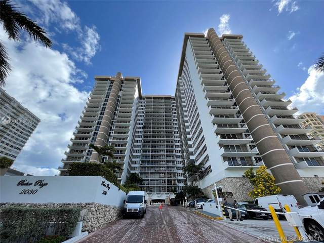 2030 S Ocean Dr #2123, Hallandale Beach, FL 33009 (MLS #A11012003) :: The Howland Group
