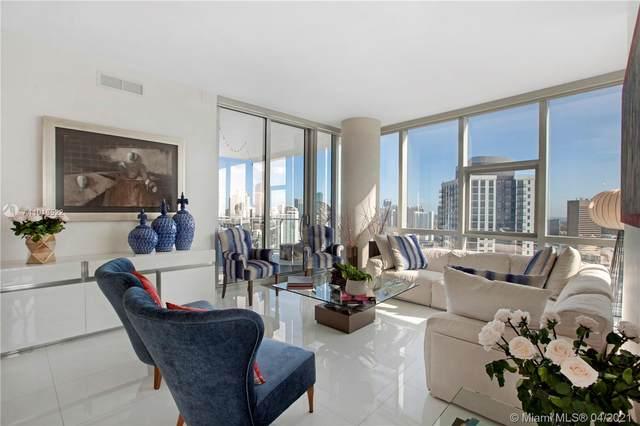 851 NE 1st Ave #3512, Miami, FL 33132 (MLS #A11013522) :: Castelli Real Estate Services
