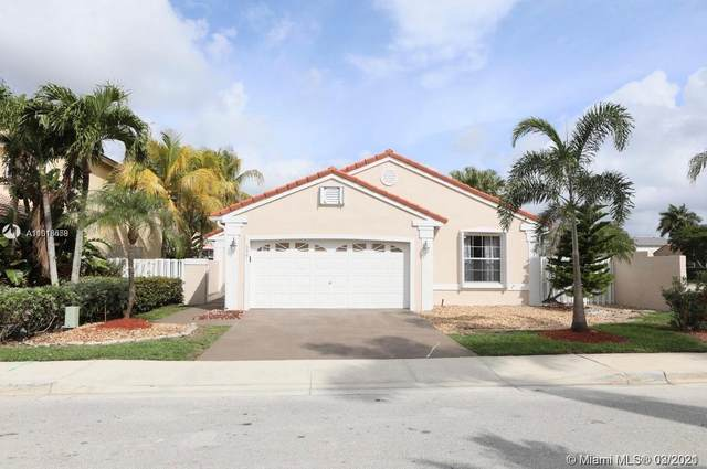 18601 NW 11th St, Pembroke Pines, FL 33029 (MLS #A11013558) :: Prestige Realty Group