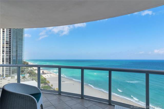 18683 Collins Ave #1402, Sunny Isles Beach, FL 33160 (MLS #A11013940) :: The Riley Smith Group