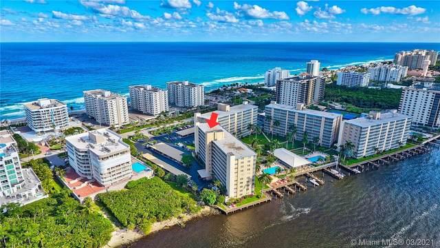 3212 S Ocean Blvd 507-A, Highland Beach, FL 33487 (MLS #A11014009) :: ONE | Sotheby's International Realty