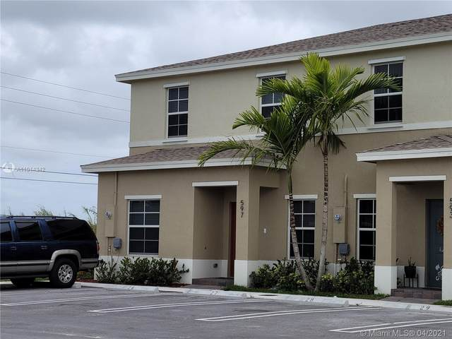 597 NE 5th Pl, Florida City, FL 33034 (MLS #A11014342) :: The Teri Arbogast Team at Keller Williams Partners SW