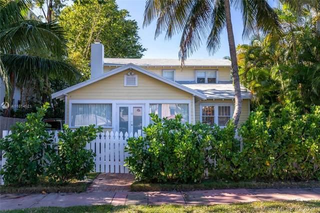 3128 Sheridan Ave, Miami Beach, FL 33140 (MLS #A11014521) :: The Paiz Group