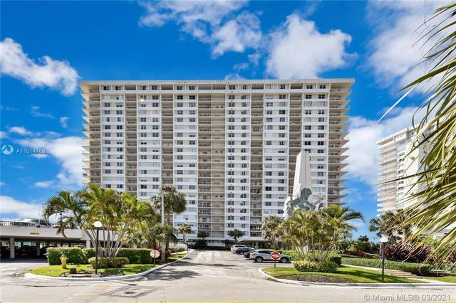 300 Bayview Dr #2009, Sunny Isles Beach, FL 33160 (MLS #A11014769) :: Castelli Real Estate Services