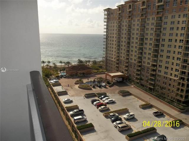 2030 S Ocean Dr #1207, Hallandale Beach, FL 33009 (MLS #A11015080) :: The Howland Group