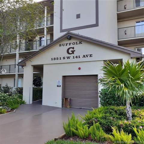 1351 SW 141st Ave 307G, Pembroke Pines, FL 33027 (#A11015792) :: Dalton Wade
