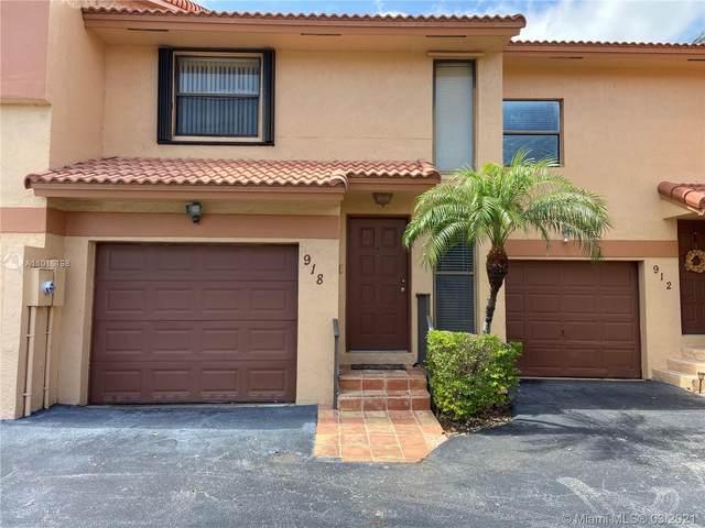 918 SW 113th Ter, Pembroke Pines, FL 33025 (MLS #A11016198) :: Prestige Realty Group