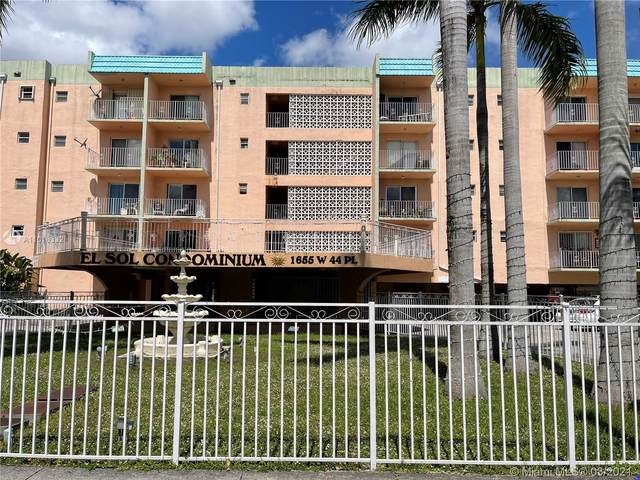 1655 W 44th Pl #509, Hialeah, FL 33012 (MLS #A11016332) :: ONE | Sotheby's International Realty