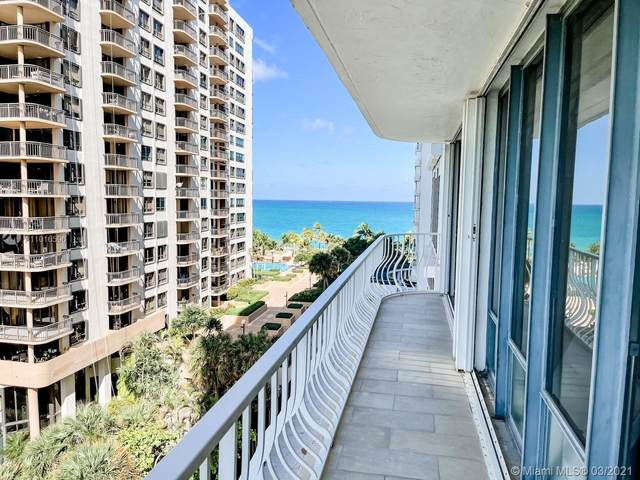 10155 Collins Ave #710, Bal Harbour, FL 33154 (MLS #A11016596) :: The Riley Smith Group