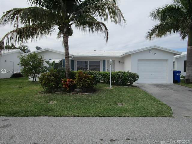 310 NW 28th Ct, Pompano Beach, FL 33064 (MLS #A11016904) :: The Rose Harris Group