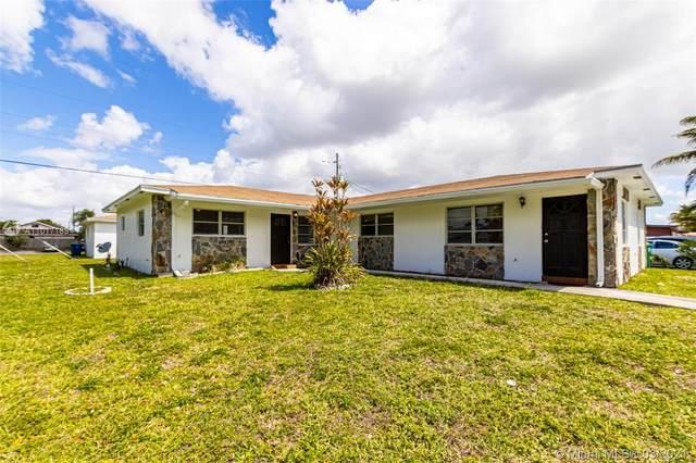 6357 SW 20th St, Miramar, FL 33023 (#A11017189) :: Posh Properties