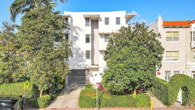 1532 Drexel Ave #302, Miami Beach, FL 33139 (MLS #A11017240) :: Team Citron