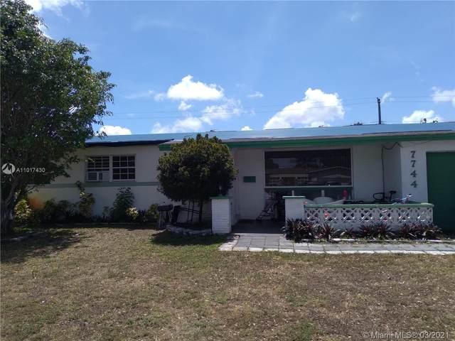 7744 Dilido Blvd, Miramar, FL 33023 (MLS #A11017430) :: Equity Realty