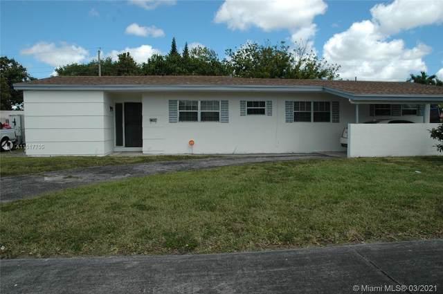 1285 NW 179th Ter, Miami Gardens, FL 33169 (MLS #A11017705) :: Berkshire Hathaway HomeServices EWM Realty