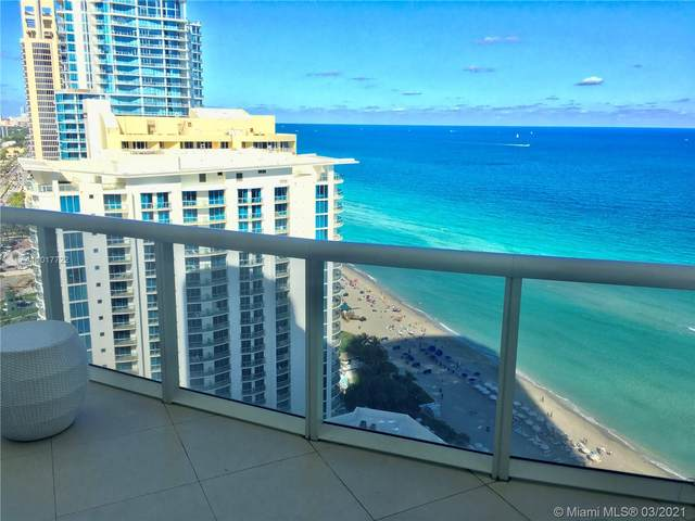 17201 Collins Ave #2907, Sunny Isles Beach, FL 33160 (MLS #A11017722) :: The Teri Arbogast Team at Keller Williams Partners SW