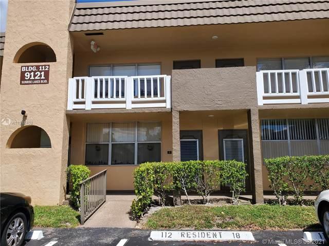 9121 Sunrise Lakes Blvd #116, Sunrise, FL 33322 (MLS #A11018438) :: ONE   Sotheby's International Realty