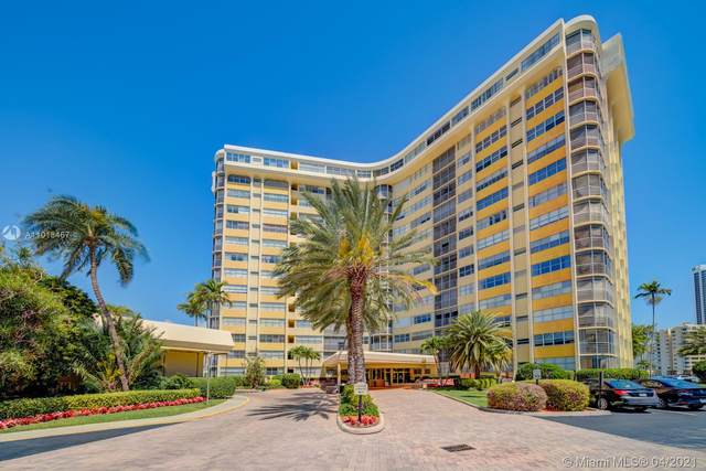 100 Golden Isles Dr #807, Hallandale Beach, FL 33009 (MLS #A11018467) :: Green Realty Properties