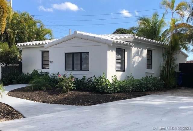 926 SW 21st St, Fort Lauderdale, FL 33315 (MLS #A11018487) :: The Paiz Group