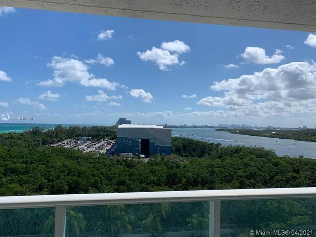 100 Bayview Dr #1025, Sunny Isles Beach, FL 33160 (MLS #A11018668) :: The Riley Smith Group
