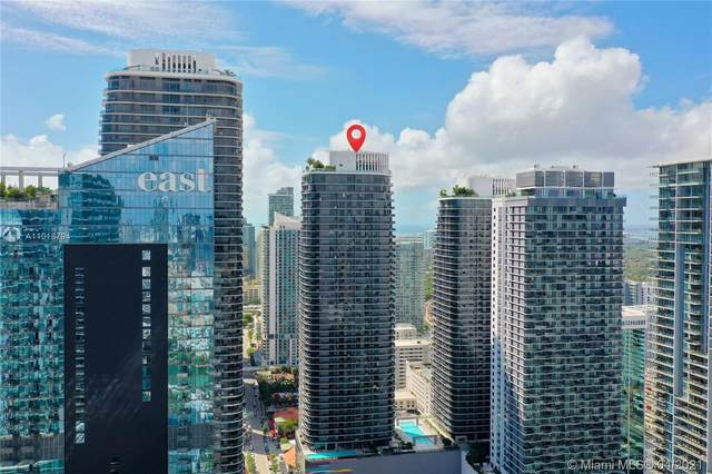 45 SW 9th St #2010, Miami, FL 33130 (MLS #A11018794) :: The Teri Arbogast Team at Keller Williams Partners SW