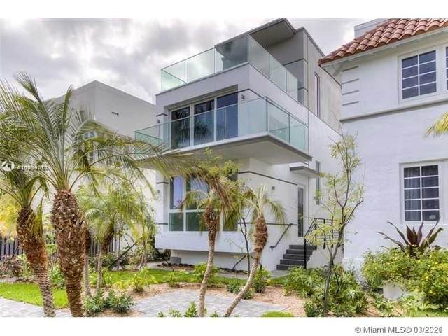 1410 Euclid Ave Th-B, Miami Beach, FL 33139 (MLS #A11019214) :: Re/Max PowerPro Realty