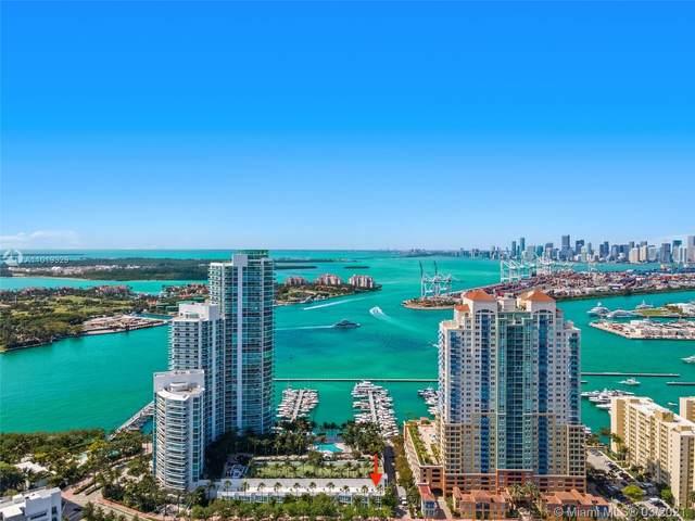 1000 S Pointe Dr Th-A10, Miami Beach, FL 33139 (MLS #A11019329) :: Carlos + Ellen