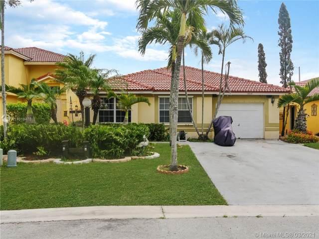 19041 NW 53rd Ct, Miami Gardens, FL 33055 (MLS #A11019476) :: Berkshire Hathaway HomeServices EWM Realty