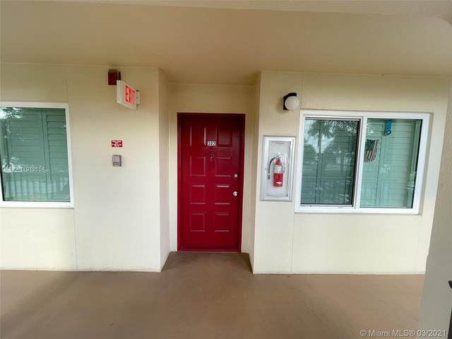 901 SW 128th Ter 302A, Pembroke Pines, FL 33027 (MLS #A11019654) :: Compass FL LLC