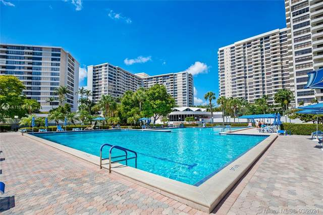 500 Three Islands Blvd #907, Hallandale Beach, FL 33009 (MLS #A11019724) :: Team Citron