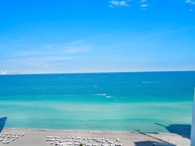 18001 Collins Ave #1706, Sunny Isles Beach, FL 33160 (MLS #A11019880) :: The Howland Group