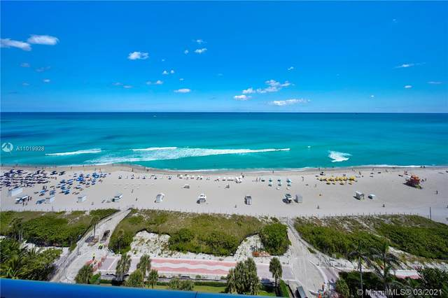 3737 Collins Ave S-1401, Miami Beach, FL 33140 (MLS #A11019928) :: Team Citron