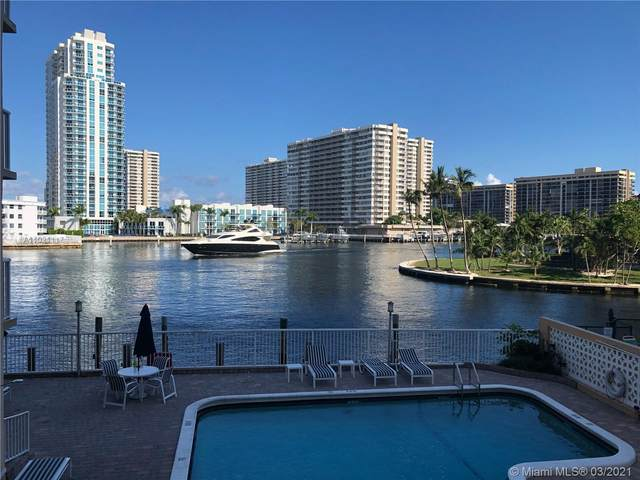 121 Golden Isles Dr #107, Hallandale Beach, FL 33009 (MLS #A11021117) :: The Riley Smith Group