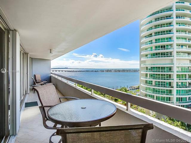 1627 Brickell Ave #1502, Miami, FL 33129 (MLS #A11021525) :: The Howland Group