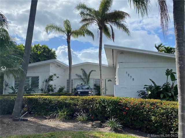 1270 99th St, Bay Harbor Islands, FL 33154 (MLS #A11021643) :: Carlos + Ellen
