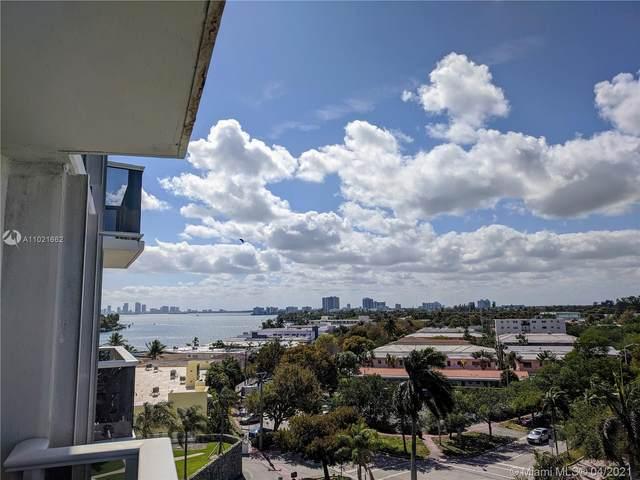 900 Bay Dr #609, Miami Beach, FL 33141 (#A11021662) :: Dalton Wade