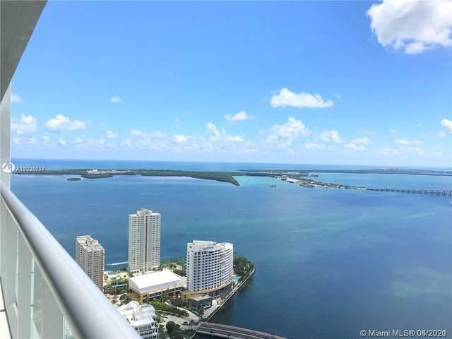 495 Brickell Ave #5605, Miami, FL 33131 (MLS #A11021767) :: Berkshire Hathaway HomeServices EWM Realty