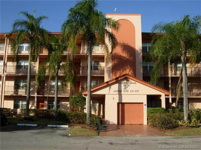 12701 SW 13th St 207F, Pembroke Pines, FL 33027 (MLS #A11022093) :: The Riley Smith Group
