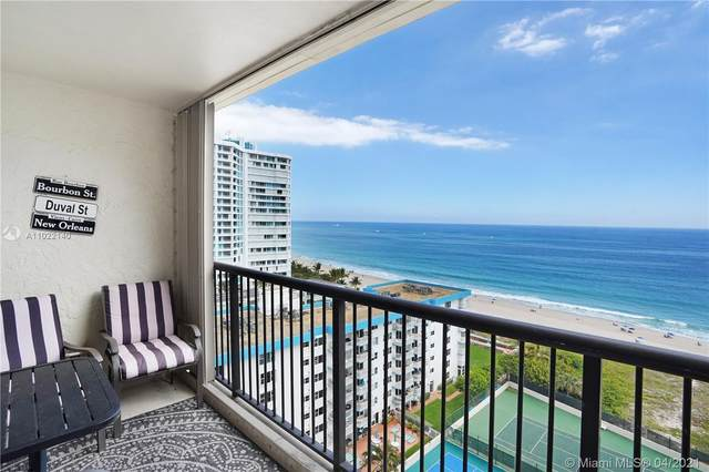 1800 S Ocean Blvd #1311, Lauderdale By The Sea, FL 33062 (MLS #A11022140) :: The Howland Group