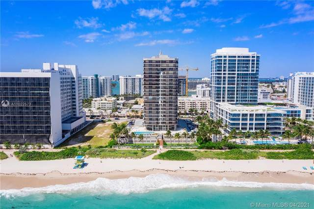 6767 Collins Ave #906, Miami Beach, FL 33141 (MLS #A11022573) :: The Teri Arbogast Team at Keller Williams Partners SW
