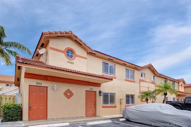 17326 NW 74th Avenue #102, Hialeah, FL 33015 (MLS #A11024009) :: Compass FL LLC