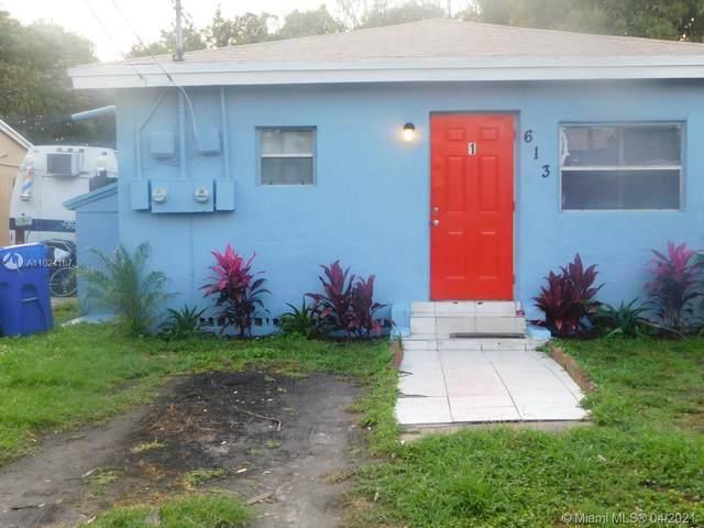 613 NW 15th Ave, Pompano Beach, FL 33069 (MLS #A11024167) :: Re/Max PowerPro Realty