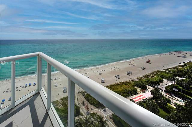 3801 Collins Ave #1605, Miami Beach, FL 33140 (MLS #A11024172) :: The Paiz Group