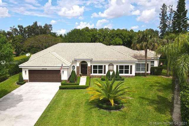 16120 Saddle Ln, Weston, FL 33326 (MLS #A11024287) :: The Howland Group