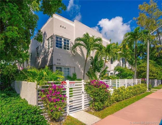 1550 Meridian Ave, Miami Beach, FL 33139 (MLS #A11024487) :: ONE Sotheby's International Realty