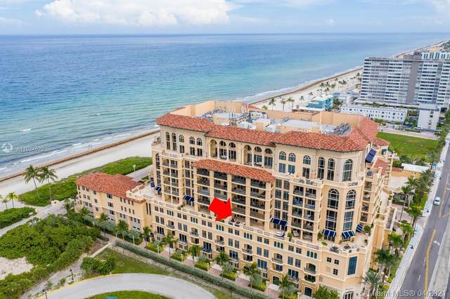 3501 N Ocean Dr 4G, Hollywood, FL 33019 (MLS #A11024522) :: Team Citron