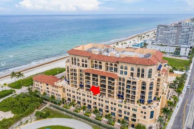 3501 N Ocean Dr 4G, Hollywood, FL 33019 (MLS #A11024522) :: ONE | Sotheby's International Realty